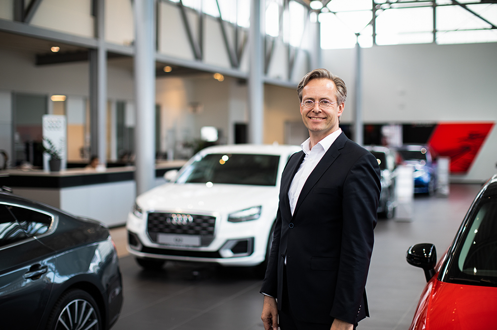 Audi mann 2